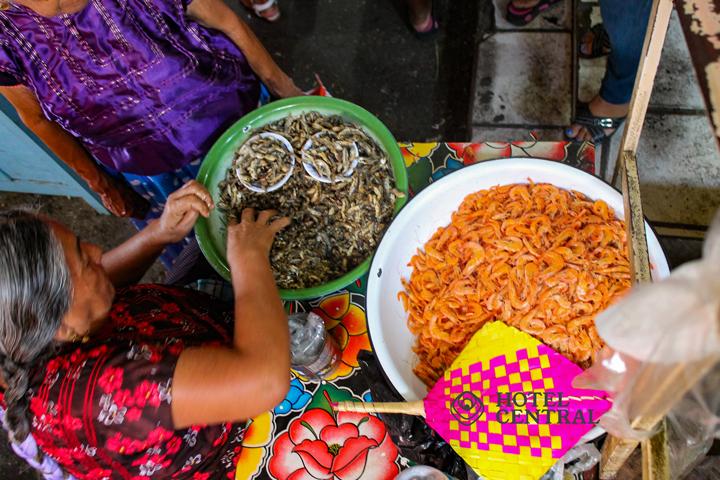 gastronomia en juchitán de zaragoza Oaxaca